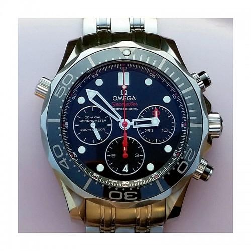 628002d67 Omega Seamaster Diver 300M Chronograph 44mm Black Ceramic RRP $7250 –  Sydney Watch Exchange